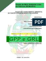 Manual de Instrução Para Licenciamento Ambiental SEMARH 2014