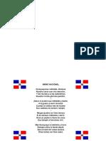 Imagen de La Bandera y El Himno Nacional
