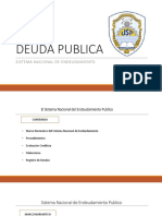 TEMA N° 13 - DEUDA PUBLICA