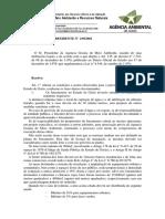 Portaria n. 239 AGMA 2001 Licenciamento Ambiental de Loteamentos Em Goiás
