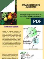 Irradiacion Para en Alimentos