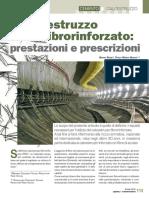 Il calcestruzzo fibrorinforzato - Prestazioni e prescrizioni