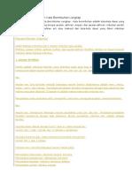 Pengertian dan Contoh Kata Berimbuhan Lengkap.doc