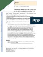 (Estres-Carlos)-Review-Stress Risk Factors and Stress-related Pathology%253b Neuroplasticity%252c Epigenetics and Endophenotypes-Radley%252c Herman%252c Et Al.-nih-2011