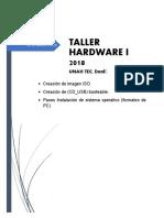Manual Formateo de Pc Taller i 2018