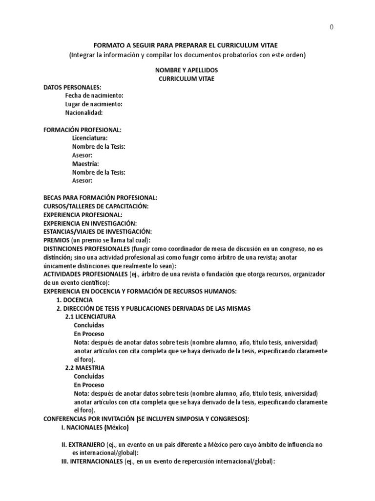 Moderno Formato De Curriculum De Cadena De Suministro Galería ...
