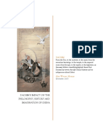Daoism's Impact on the Philosophy, History and Imagination of China