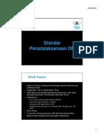 Penatalaksanaan DM-Studi Kasus [Compatibility Mode]