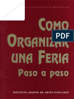 Organizar Feria