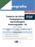 Geografia Regular Professor Autoregulada 6a 2b