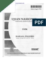 Naskah Soal UN Bahasa Inggris SMK 2013 Paket 1.pdf