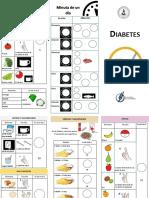Triptico Diabetes ANALFABETO