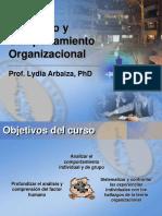 Liderazgo y Comportamiento Organizacional - Parte I