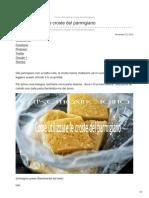 Come Utilizzare Le Croste Del Parmigiano