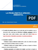 Problemas Urbano - Ambientales