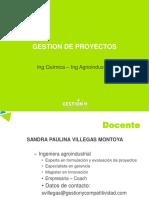 Modulo I Gerencia de Proyectos UPB