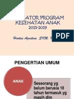 Indikator Prog.kesh.Anak 2015-2019 New