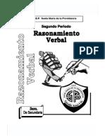 Raz Verbal 2doperiodo 3er Año Smdp2005