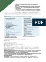 Protocolo Investigação amenorreias