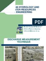 Discharge Measurement 2