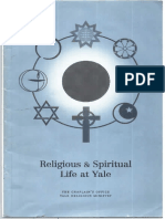 Religious Life at Yale