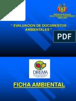 Ficha Ambiental (Capacitación Municipios)