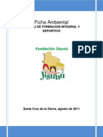 Ficha Ambiental Jisunú