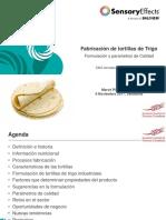 Fabricación de Tortillas de Trigo Formulación y Parámetros de Calidad. Mercè Piñol. BALCHEM ENCAPSULATES