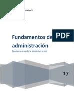 Proyecto Final fundamentos de la administracion