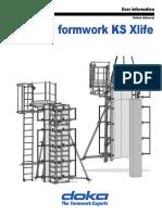 Acrow Column KS Xlife User Guide