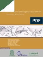 Concentracion de Nitrogeno en Leche
