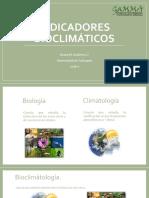 Indicadores Bioclimáticos