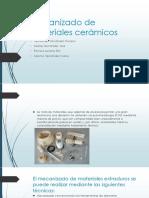 Mecanizado de Materiales Cerámicos