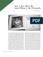 V. Quirarte_Los Afanes y Los Días de Clementina Díaz Oviedo
