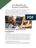 8 Exercícios Diferentes de Mobilidade Para CrossFitters