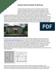 Cara Gampang Temukan Denah Rumah Sederhana