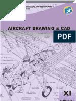 Kelas 11 SMK Aircraft Drawing & CAD 3