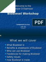 Biodiesel Workshop Sample Only
