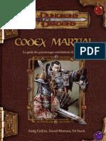 Codex Martial D&D 3.5