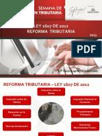 Reforma Tributaria Iva, Impuesto Al Consumo - Renta y Complementarios- Cesar Rua
