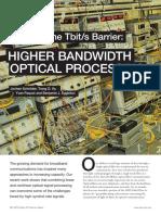 Increased Bandwidth
