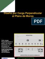 WSB Diseño Carga Perpendicular Tabiques