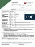 feedback-sheet caving
