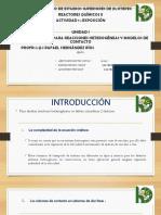 Expo Ecuacion Cinetica y Modelos de Contacto.