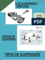 Sistema de Suspensión y Direccion