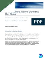 NGS GRAV-D General Airborne Gravity Data User Manual v1.1