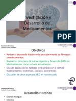 Investigación y El Desarrollo de Medicamentos I-2018b