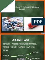 1. Granulasi Coating