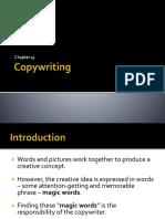 Copywriting in advertising