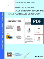 Step-By-Step Guide Build & Deploy Ethereum Blockchain Smart Contract